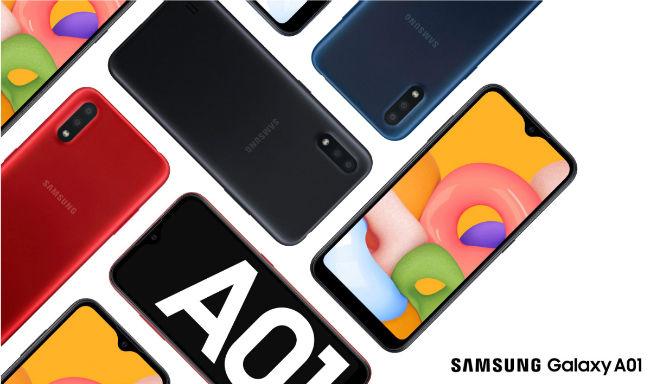 Samsung Galaxy A01 teaser