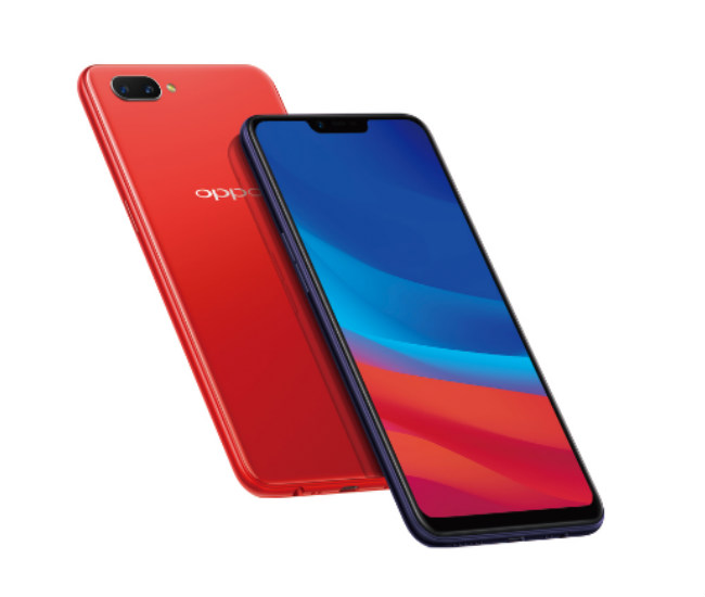 Oppo A12e red
