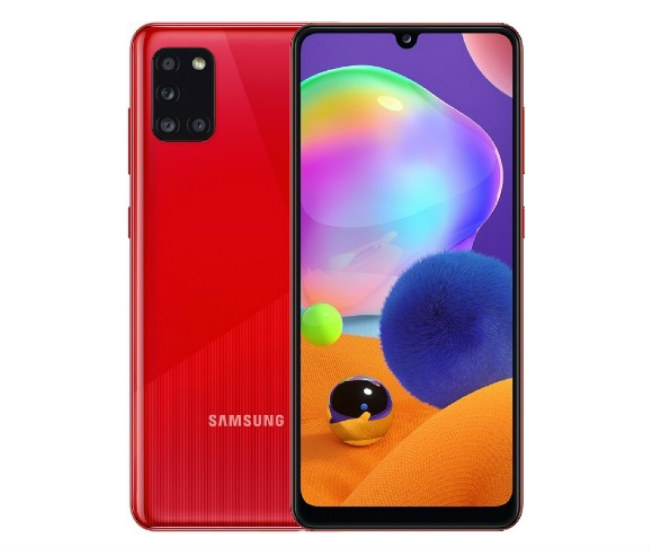 Samsung Galaxy A31 red