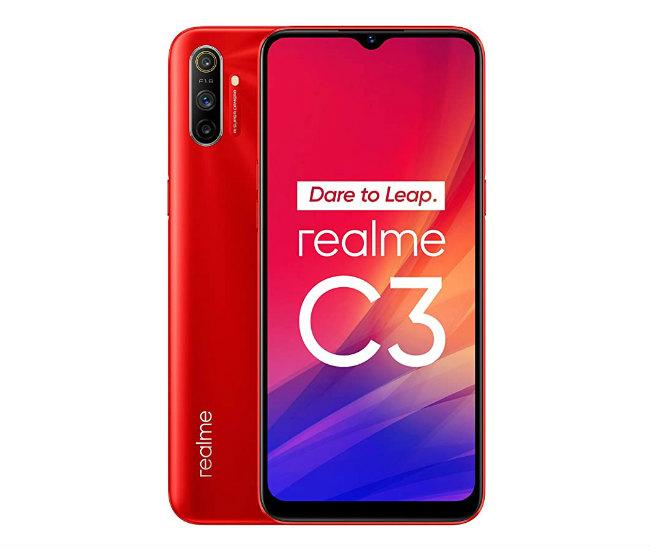 Realme C3 red