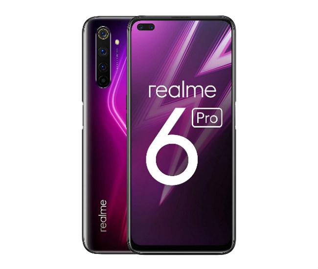 Realme 6 Pro purple