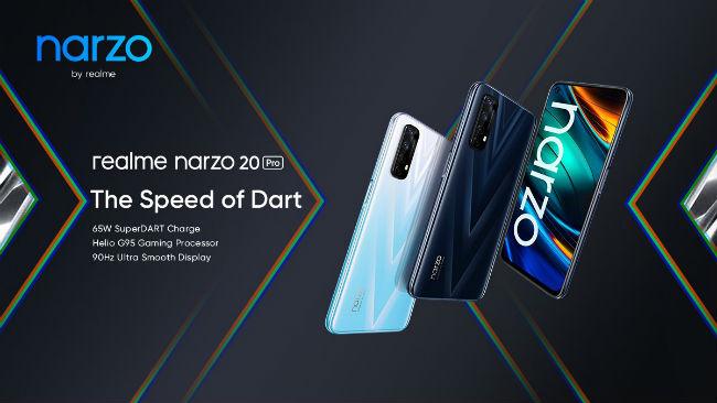 Realme Narzo 20 Pro teaser