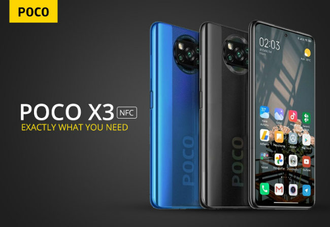 Xiaomi Poco X3 NFC teaser