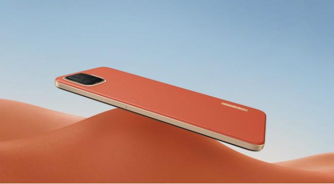 Oppo F17 orange teaser