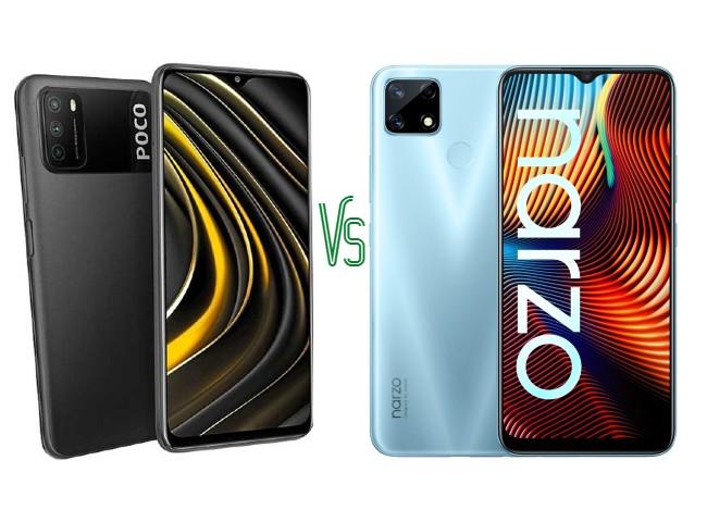 Poco M3 vs Narzo 20