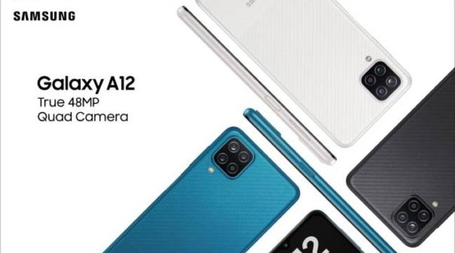 Galaxy A12 teaser