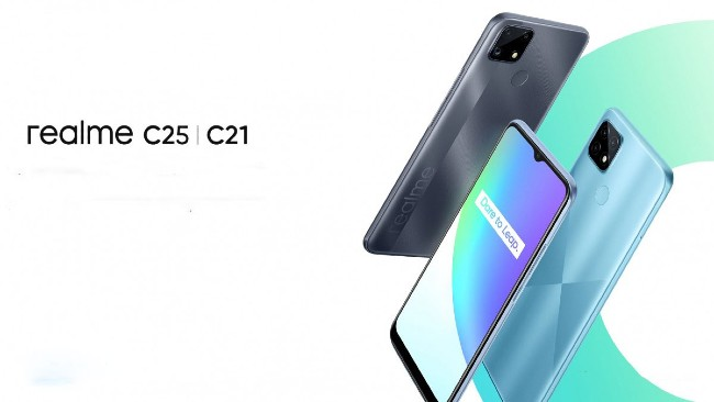 Realme C21 and C25