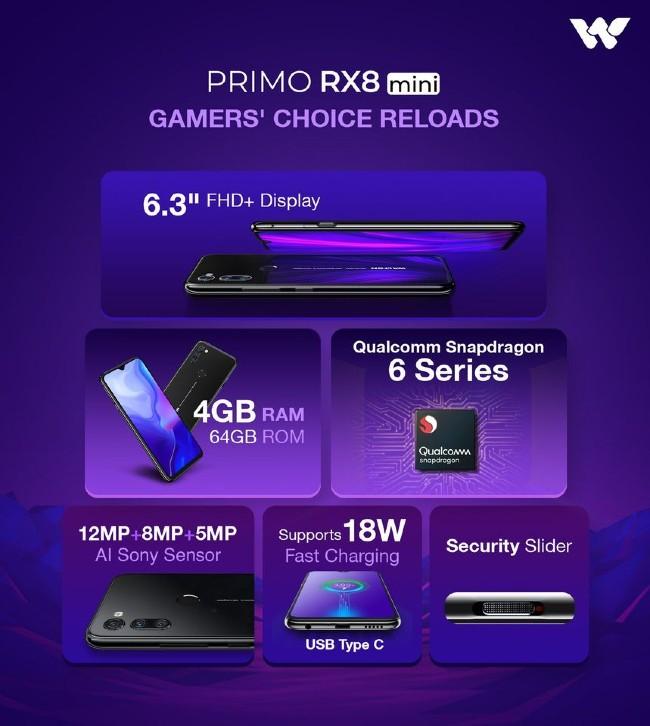 Walton Primo RX8 Mini teaser